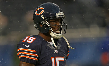 Brandon Marshall, receiver for the Chicago Bears