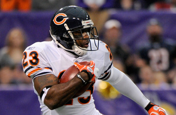 Chicago Bears return-man Devin Hester