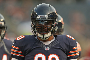 Julius Peppers of the Chicago Bears