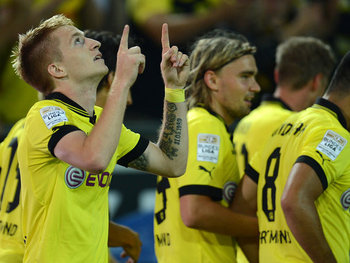 New boy Reus (left) will be tipped to star this season.
