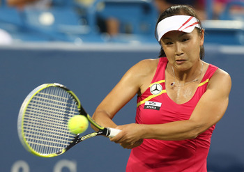 Shuai Peng is a Top 40 player, but can she play with Serena?
