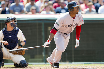Former Boston Red Sox and Tampa Bay Rays left fielder Carl Crawford