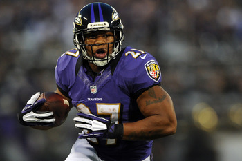 Selecting a durable RB like Ray Rice will pay off in the end.