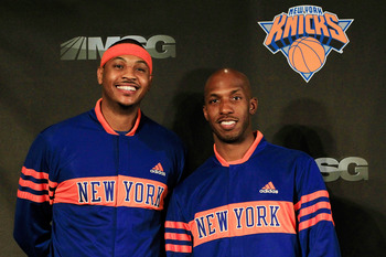 When Carmelo has had a passing point guard, he's worked wonders on the court.