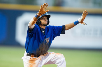 Billy Hamilton Breaking the Minor League Record for Steals