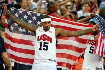 Carmelo Anthony excelled in the London Olympics—expect that to carry over.