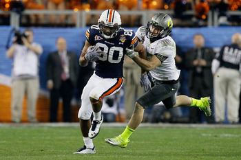 Emory Blake has blossomed into Auburn's most reliable receiving threat