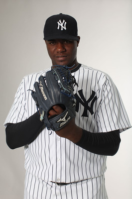 This is the closest Pineda has gotten so far to the mound in the Bronx.