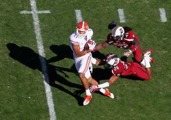 Jordan Reed hasn't put it all together yet since he arrived at Florida.