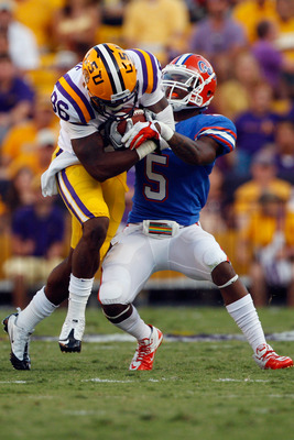 Marcus Roberson earned a rare starting spot as a true freshman in 2011.