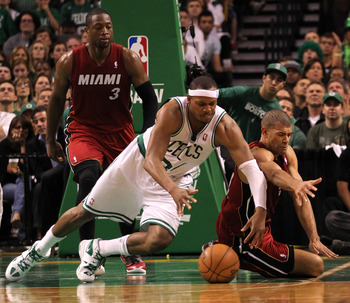 Pierce's inability to bounce back from a sprained MCL in the playoffs was alarming.