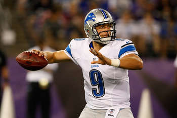 Stafford suffered a minor hand injury in Week 3.