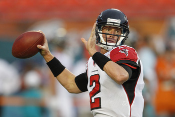 Armed with two elite weapons on the outside, Matt Ryan is ready to break out.