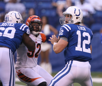 Will Andrew Luck break Peyton Manning's rookie records?