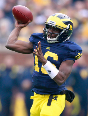 Denard Robinson is one of the most elusive athletes in college football.