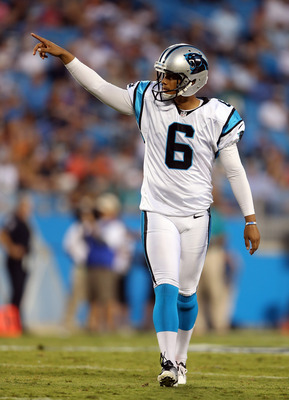 Justin Medlock (6) is the Panthers' new kicker.