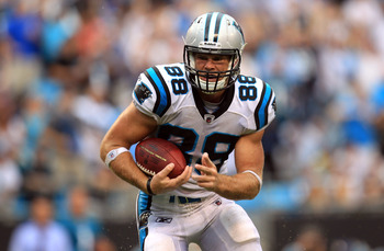 No Jeremy Shockey means good things lie ahead for Greg Olsen.