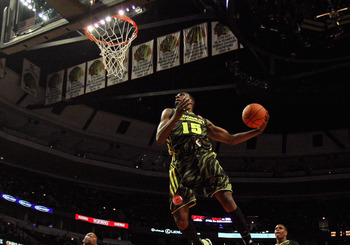 Muhammad soars for a dunk in the 2012 McDonald's All-American Game.