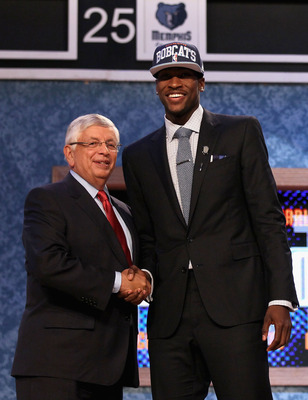 Kidd-Gilchrist was taken second overall