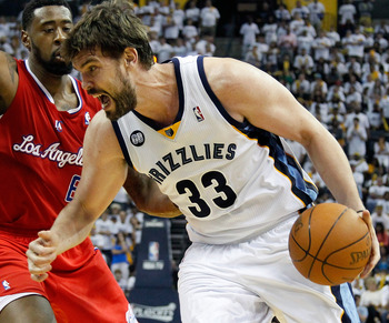 Gasol will look to improve upon the Grizzlies success last year