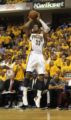 Granger is the leading scorer for the Pacers