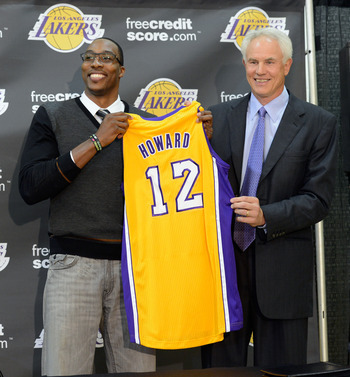 Howard can finally stop whining now that he's with the Lakers