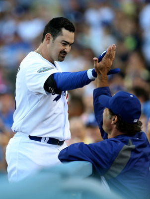 Adrian Gonzalez will be a handful for the NL West