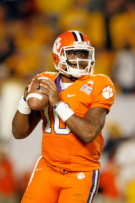 First-Team All-ACC in 2011, Tajh Boyd looks to repeat his success in 2012.