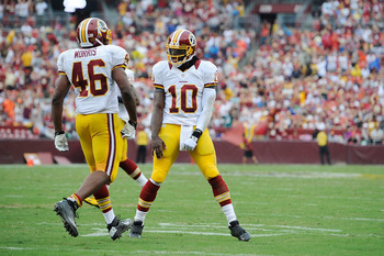 Alfred Morris and Robert Griffin III have been an effective partnership.
