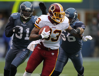 Washington Redskins tight end Fred Davis is finally Head of State in the nation's capital.