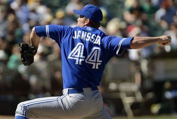 Toronto Blue Jays closer Casey Janssen is still playing to keep his new role.