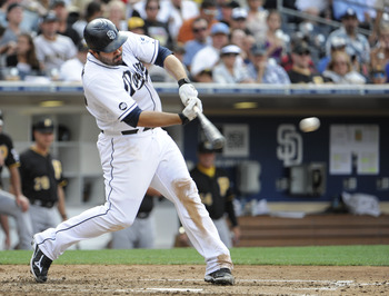 San Diego Padres outfielder Carlos Quentin needs to show his talent still overpowers his age and health.