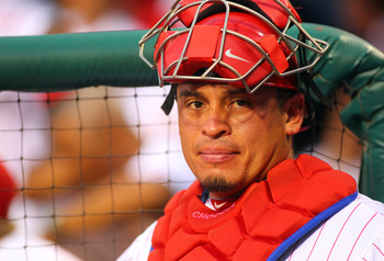 Fantasy owners need Philadelphia Phillies catcher Carlos Ruiz to return to action.