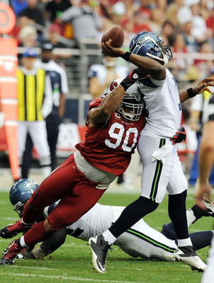 Darnell Dockett and the defensive line are a bright spot for the Cardinals.