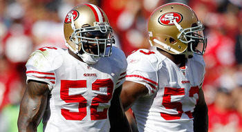 Willis and Bowman may just be the league's best linebacking duo. Paul Spinelli/Associated Press