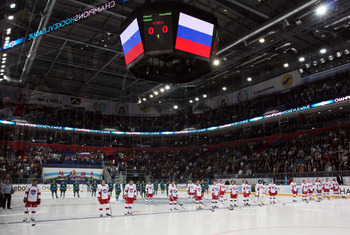 The KHL would be a solid home for NHL players looking for action in 2012.