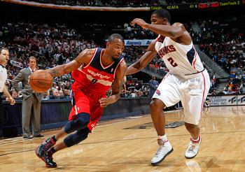 Rashard Lewis putting the ball on the floor. It happens sometimes.