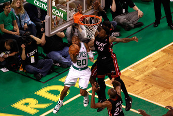 Ray Allen said if you can't beat 'em, join 'em.