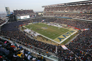 The 2010 Army-Navy Game at Lincoln Financial Field