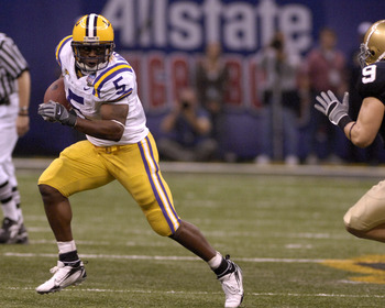 LSU in the 2007 Sugar Bowl