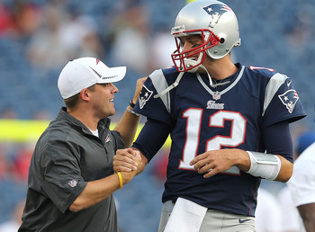 Offensive coordinator Josh McDaniels is back to lead the New England Patriots to another historic season.