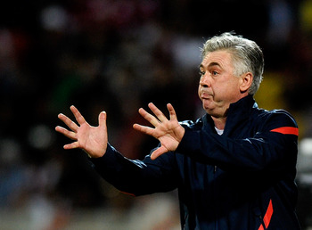Carlo Ancelotti: Pleased with the draw