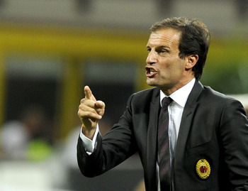 Massimiliano Allegri: AC Milan boss