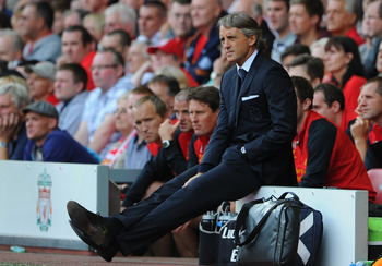 Mancini after learning of City's draw
