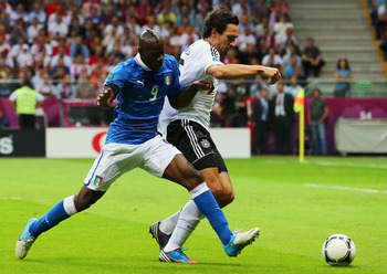 Mario Balotelli, Italy vs Germany