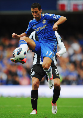 Eden Hazard, Chelsea vs Newcastle