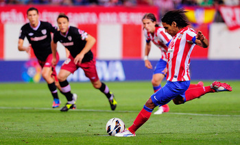 Radamel Falcao, Atlético Madrid vs Athletic Bilbao