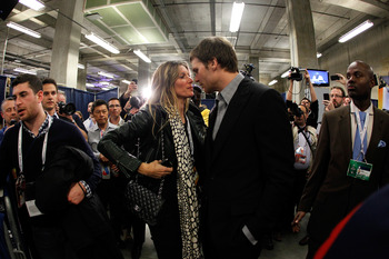 Tom Brady can only hope that this season doesn't end with Gisele publicly berating his wide receivers.