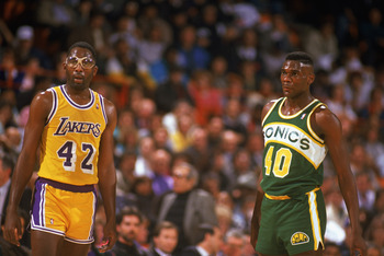 'Big Game' James Worthy was an integral part of the Lakers dynasty in the 1980s