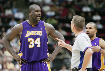 Shaquille O'Neal was the big diesel that drove Lakers engine in the 90s and beyond